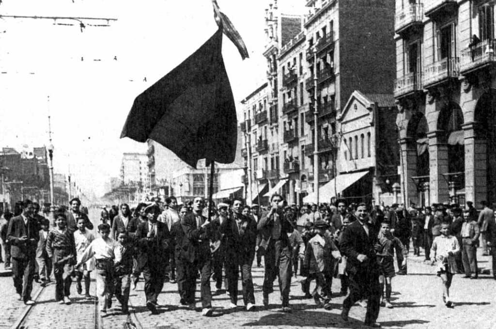 Histórico cambio de régimen en España