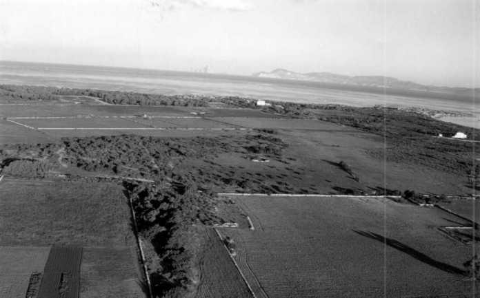 Vista aérea de Can Marroig, que pasa a ser finca pública y protegida