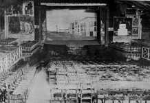 Aspecto que ofrece el interior del teatro Serra, donde actuó Carmen Vargas