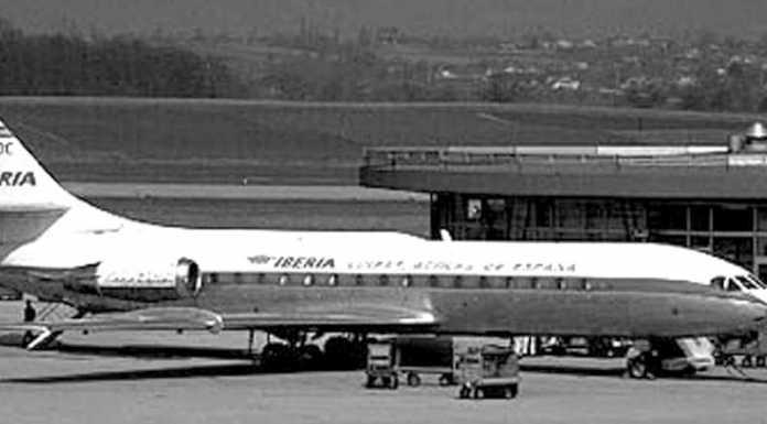Catástrofe aérea de un avión Caravelle de Iberia