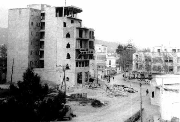 Estado en que se encuentra la construcción del edificio