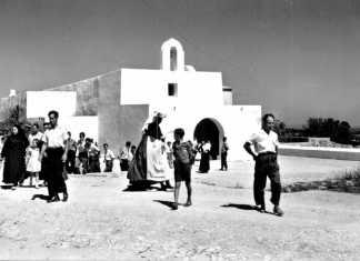 Localidad de El Pilar, en Formentera