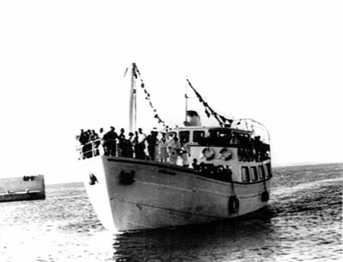 """El nuevo buque """"Joven Dolores"""" ha realizado su viaje inaugural entre Ibiza y Formentera"""
