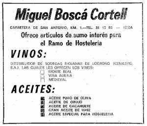 Los artículos de sumo interés de Miguel Boscá.