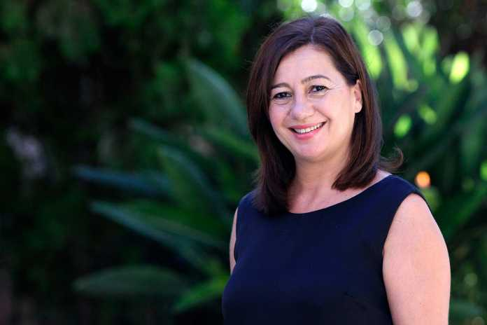 Compromiso con el futuro. Francina Armengol i Socías. Presidenta del Govern de les Illes Balears