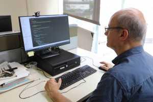 Vicente Ferrer, web manager de Diario de Ibiza. V. M.