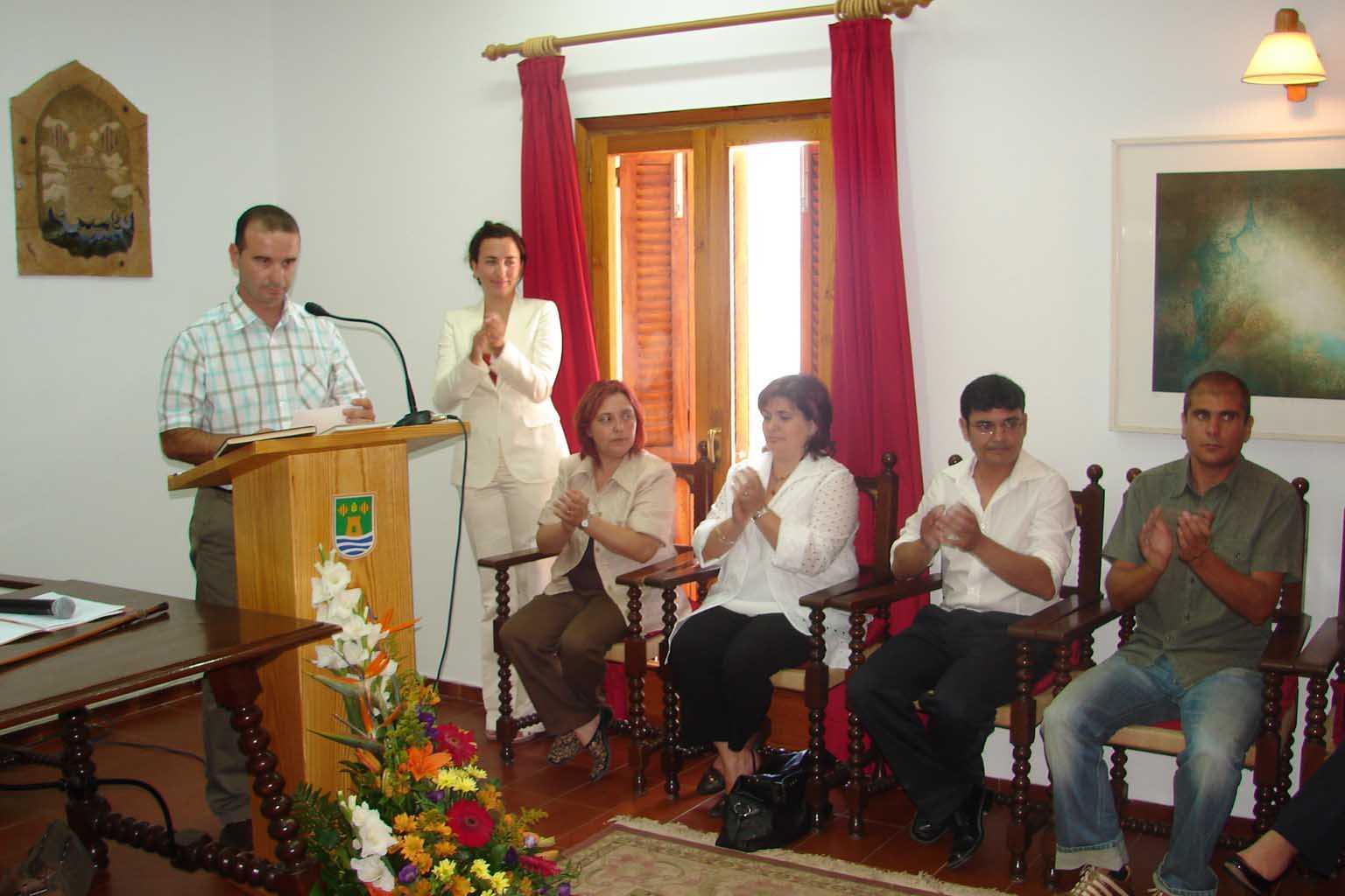 Jaume Ferrer, nuevo presidente del Consell de Formentera en 2007. C.C.