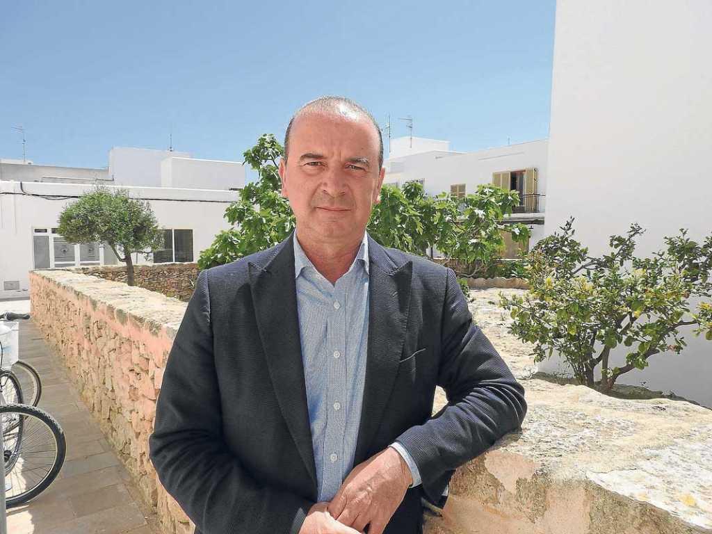 Jaume Ferrer Ribas. President del Consell de Formentera