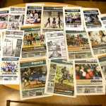Diariodeporte. Portadas de ejemplares de los últimos años. Toni Escobar