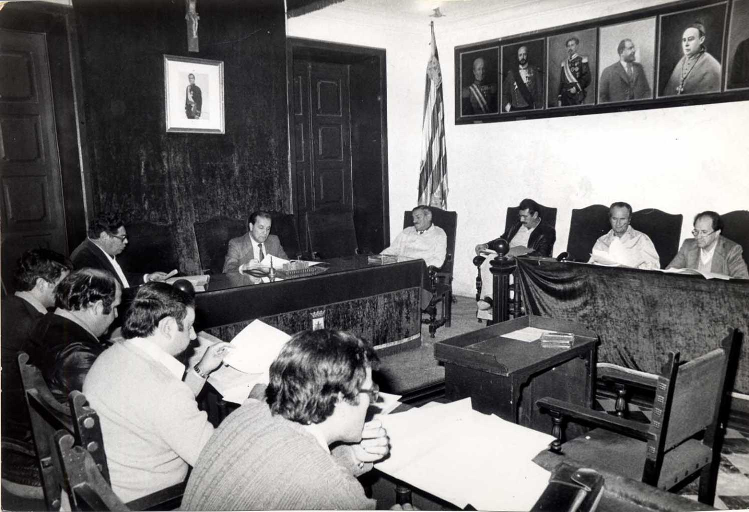 Cosme Vidal ganó las primeras elecciones democráticas para elegir al Consell Insular el 3 de abril de 1979. Hemeroteca Diario de Ibiza
