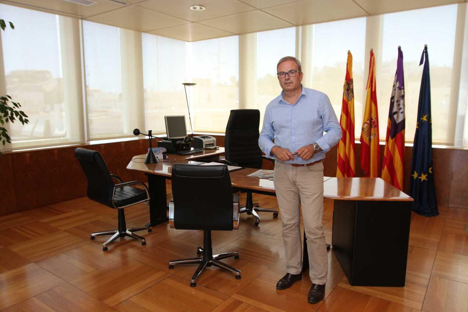 Vicent Torres, el actual presidente del Consell, fue investido del 3 de julio de 2015. Pau Ferragut
