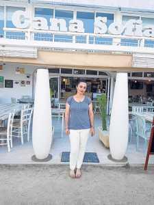 «Decidimos ponerle el nombre de Cana Sofía porque es el de mi mujer, Sofía Marí Tur, el pilar fundamental del restaurante; sin ella todo es inviable», declara Moisés Machado.