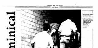 Reproducción de la primera portada del Dominical. D.I.
