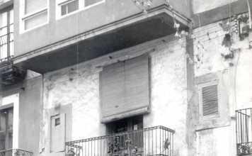 Sede. Local de la calle Aníbal, 3 en la Marina. D. I.