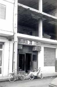 En los primeros años 70 el diario se instaló en la calle Aragón. DI