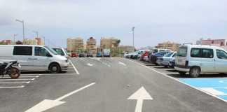 Zonas Peatonales. Una de las nuevas zonas para aparcar se encuentra en el cruce de las calles Sant Joan y José Guasch Vich. fotos: Ayuntamiento de Santa Eulària
