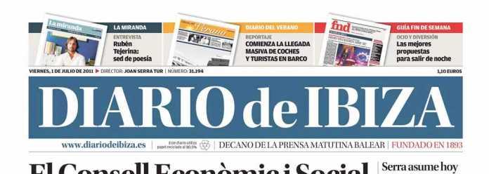 Cabecera Diario de Ibiza de 2011