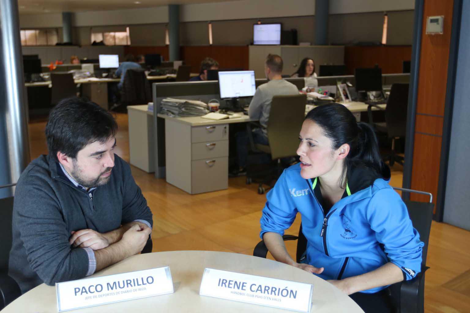 Entrevista digital a Irene Carrión. Juan A. Riera