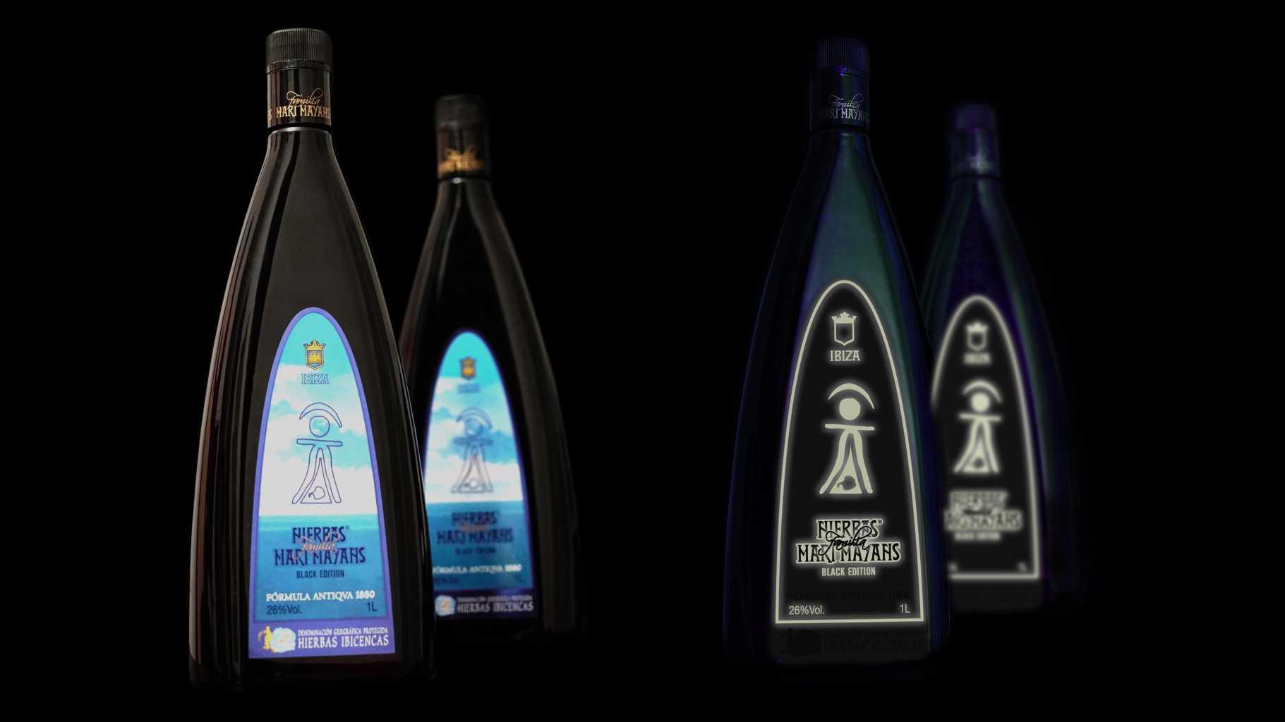 Otro ejemplo de adaptación al entorno es la nueva botella de Marí Mayans, diseñada especialmente para el ocio nocturno. foto: Imam Comunicación