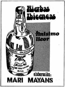 Anuncio de 1979. fotos: Hemeroteca de Diario de Ibiza