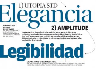 Tipografía de Diario de Ibiza