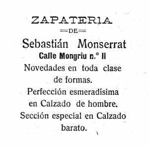 El zapatero Sebastián