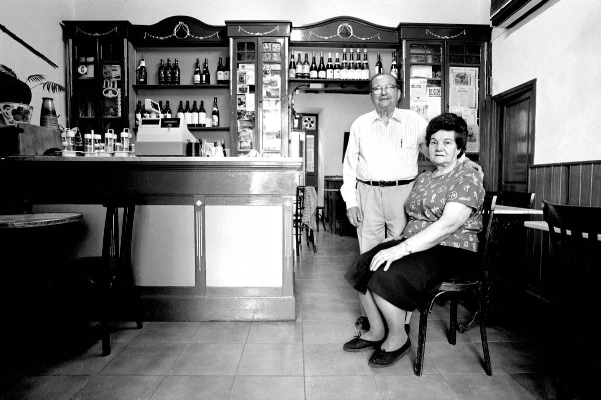 Toni Marí y Maria Marí, fundadores del San Juan. 'gent de la marina', de V. Marí