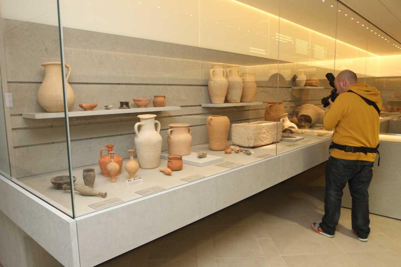 El museo monográfico de la necrópolis del Puig des Molins, reabierto tras una profunda y larga reforma. Moisés Copa