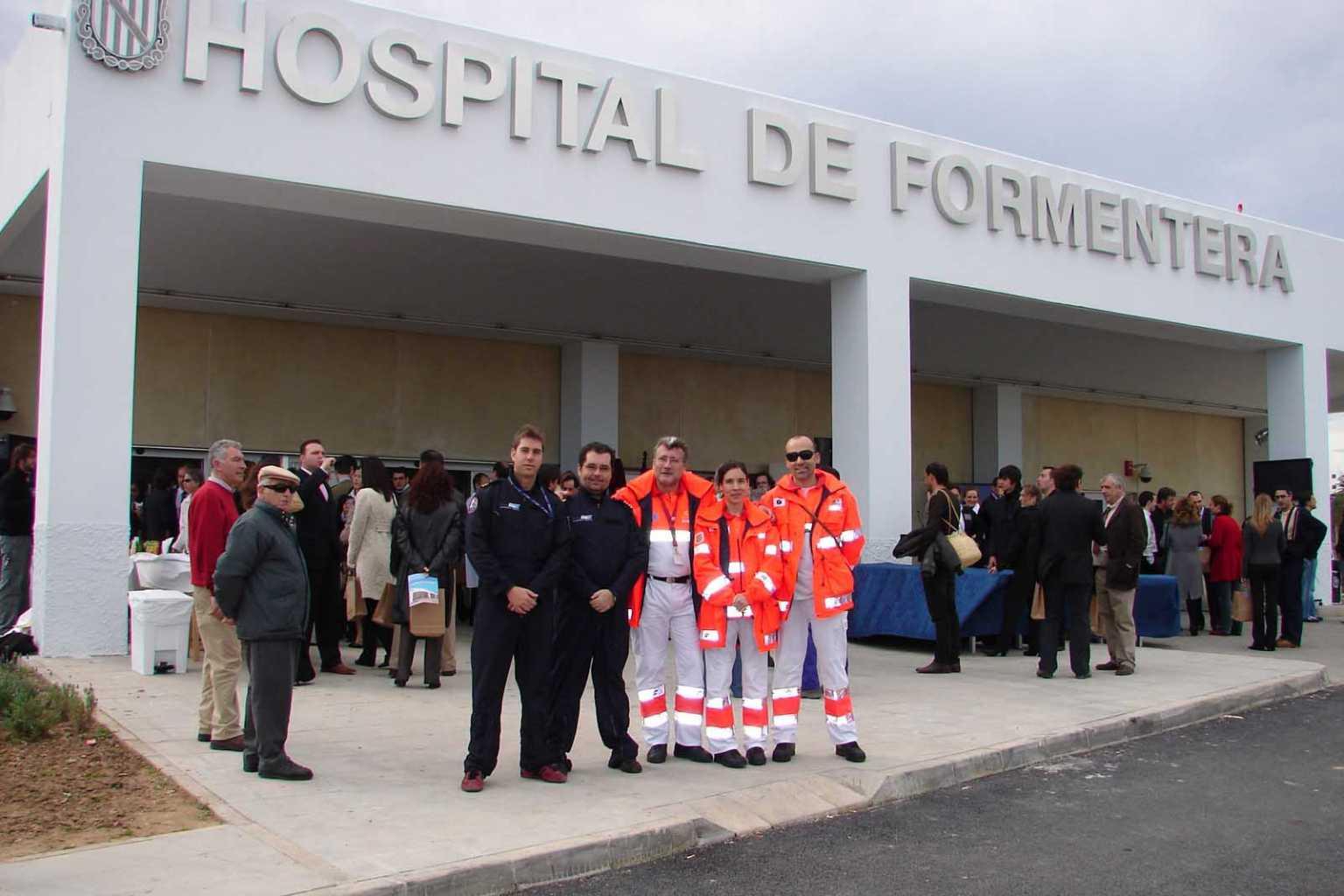 Inauguración del Hospital de Formentera, en el año 2007. Carmelo Convalia