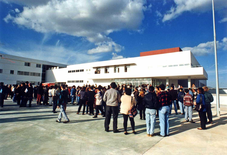 Inauguració de l'institut d'ensenyament secundari Algarb de Sant Jordi, fa 25 anys. Diario de Ibiza