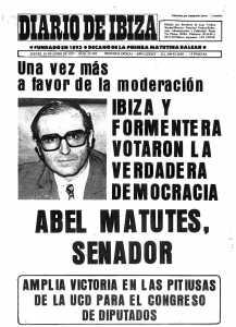 Es Diari, sin complejos tras las elecciones del 15 de junio de 1977. DI.