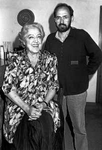 Toni Pomar con Mary SantPere en Ibiza. ARCHIVO TONI POMAR