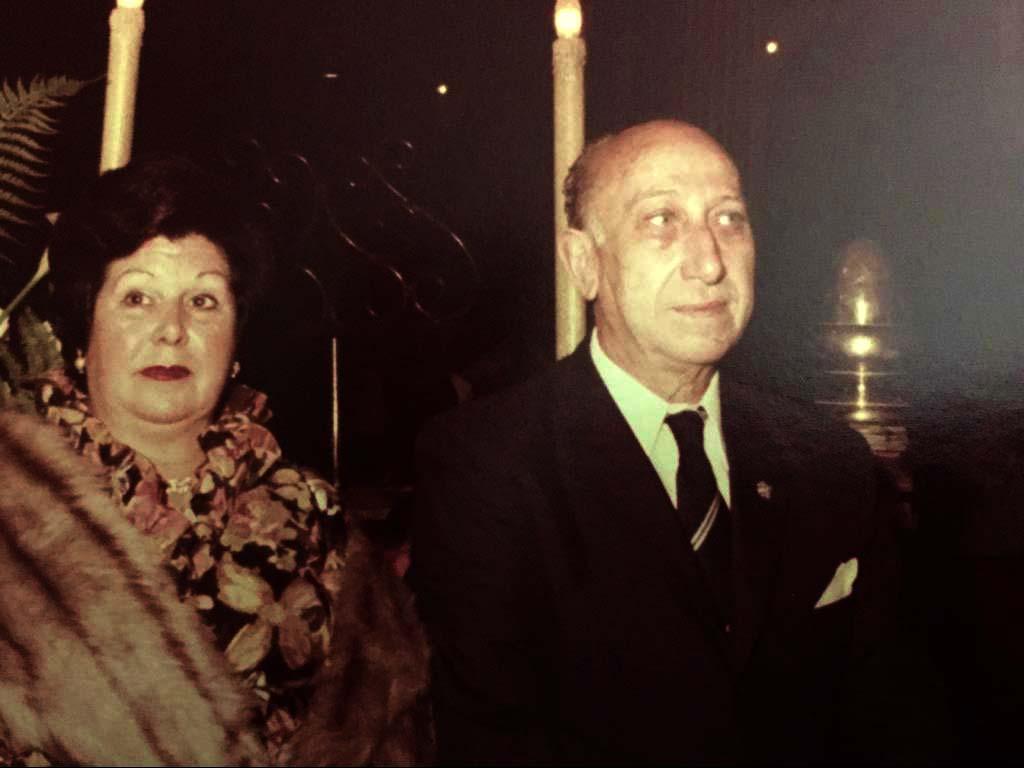 María Luisa Carrió y Carlos Cava de Llano. Archivo familiar