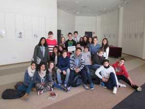Un grupo de adolescentes en el Club Diario en 2014. D. I.