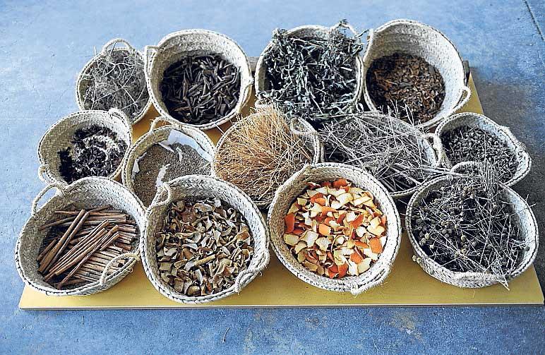 Hierbaluisa, cintas de naranja y limón, frígola y otras hierbas | Gabi Vázquez