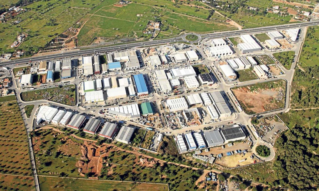 Vista panorámica Polígono Industrial Montecristo