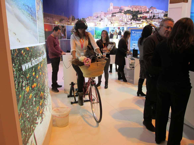 Formentera promociona en Fitur las rutas cicloturísticas y los eventos deportivos