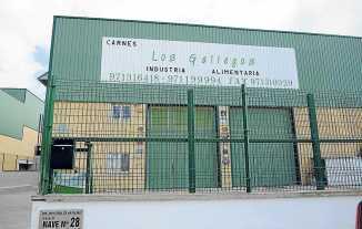 Exterior del almacén de Los Gallegos.