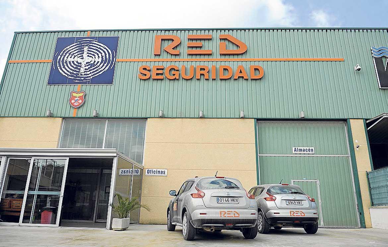 Red Seguridad, tiene su centro de operaciones en el polígono.
