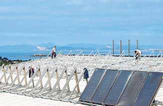 Energías renovables en edificios, una buena solución.