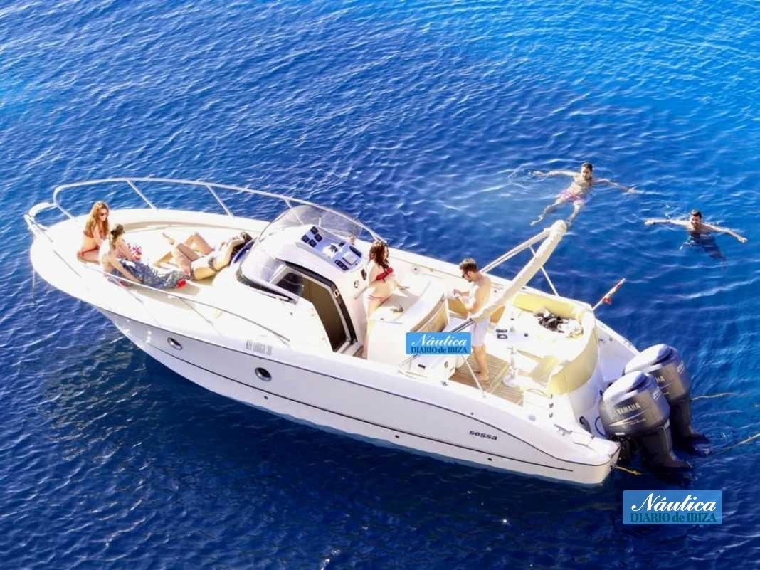 Alquilar un barco en Ibiza