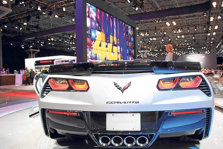 Los 'Corvette' de Chevrolet son los coches más admirados.
