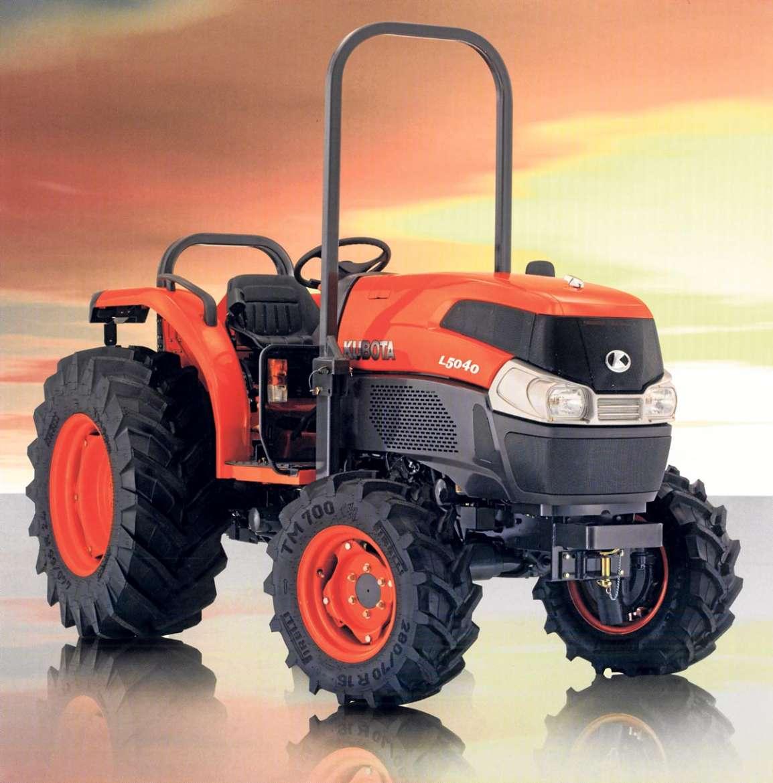 Tractores Kubota. Grandes ayudantes para el campo