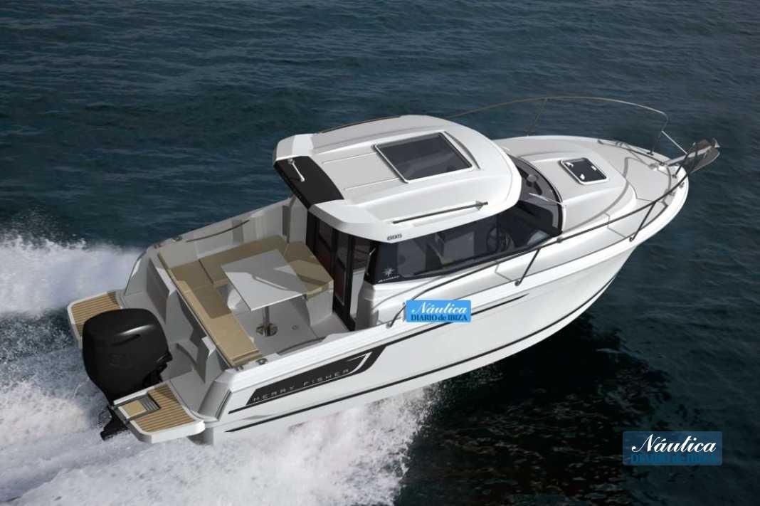 La nueva y dinámica Merry Fisher 695 es un crucero multi uso.