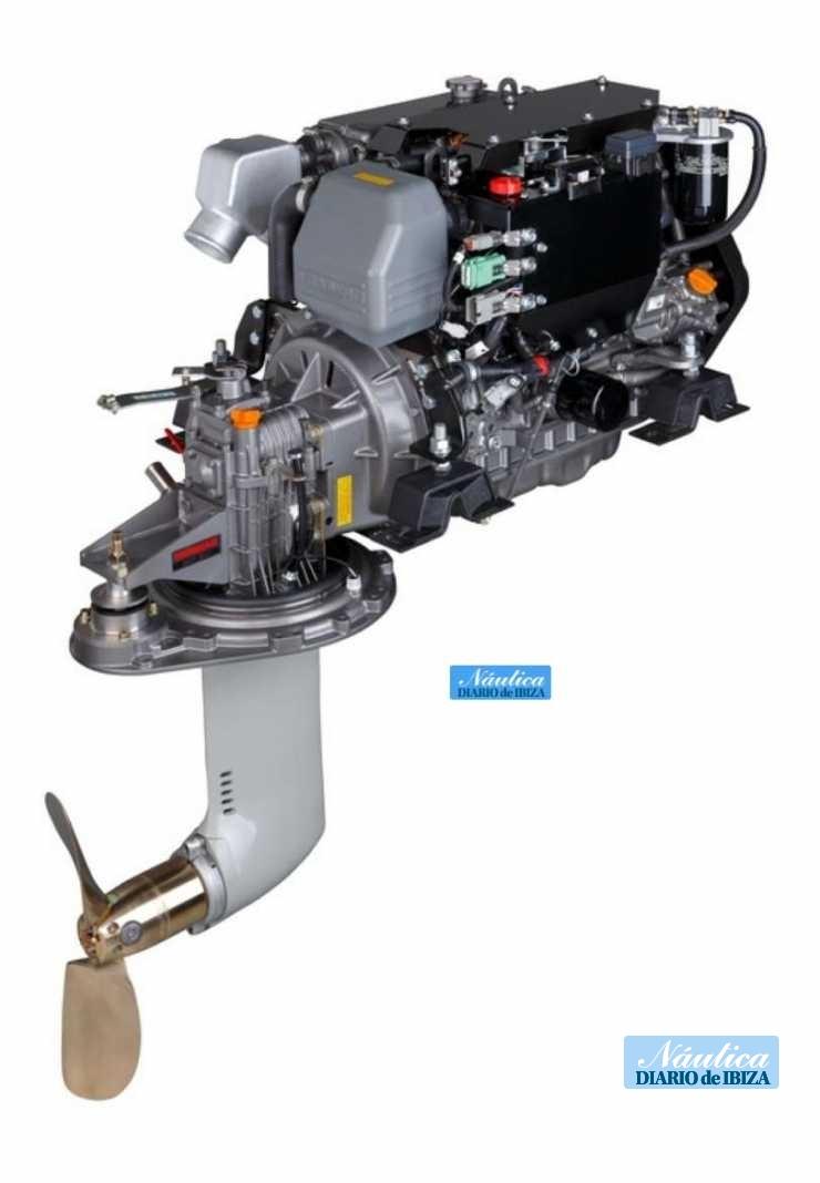 Motor Yanmar 4JH45-SD60.