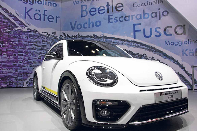 Uno de los cuatro Beetle Concepts presentados por Volkswagen para atraer nostalgia del conocido coche.
