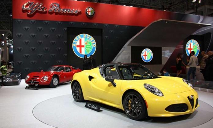Alfa Romero exhibió́ sus nuevos modelos deportivos.