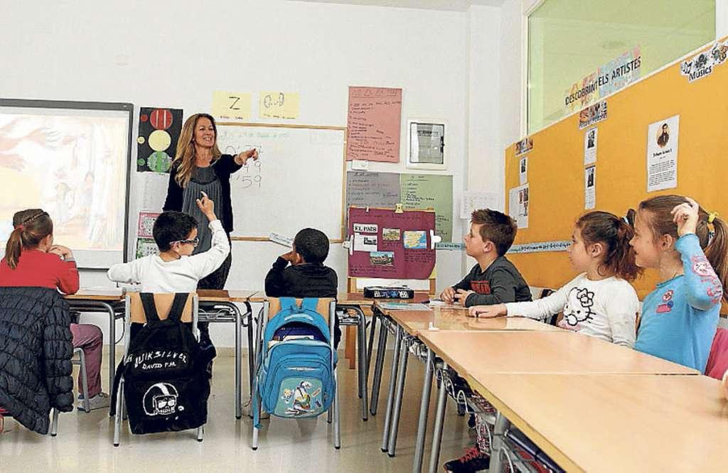 El catalán, primera opción escolar