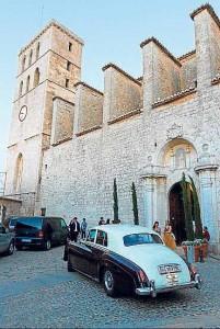 Exteriores de la catedral.