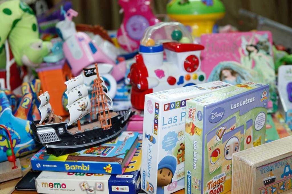 Hay que elegir los juguetes en función de la edad. | CRISTINA LOPEZ